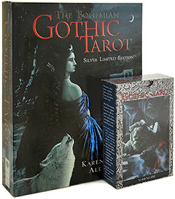 Bohemian Gothic Tarot Set, Silver Limited Edition